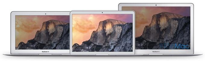 新型MacBook Air12インチのサイズ
