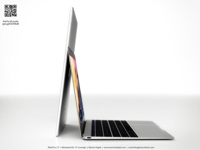 2015年3月に発売が噂されている新型12インチMacBook Air