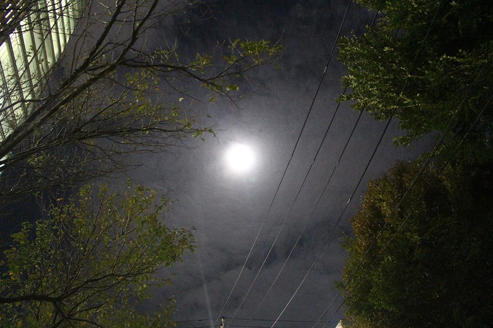 2015年10月27日の満月