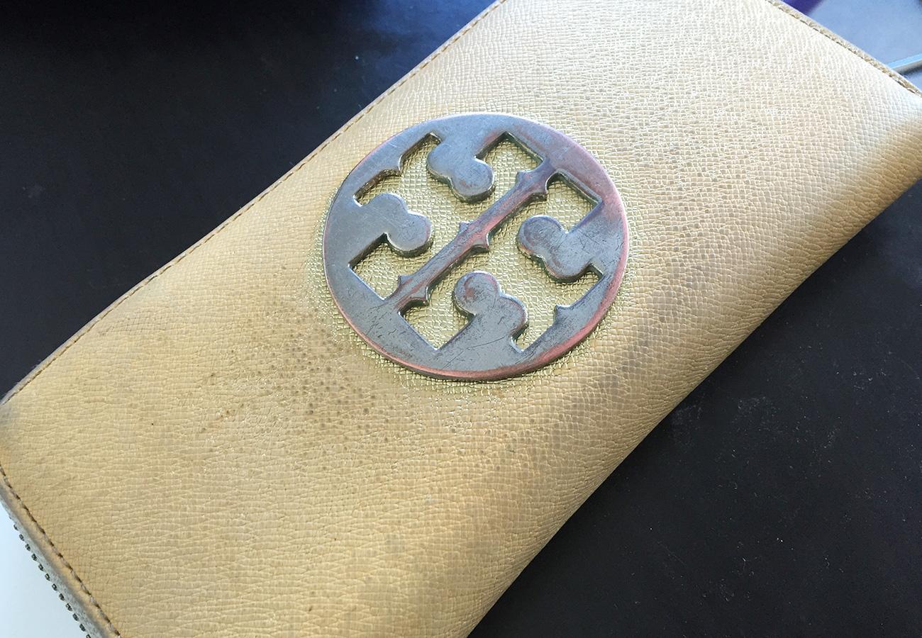 使用済みの財布