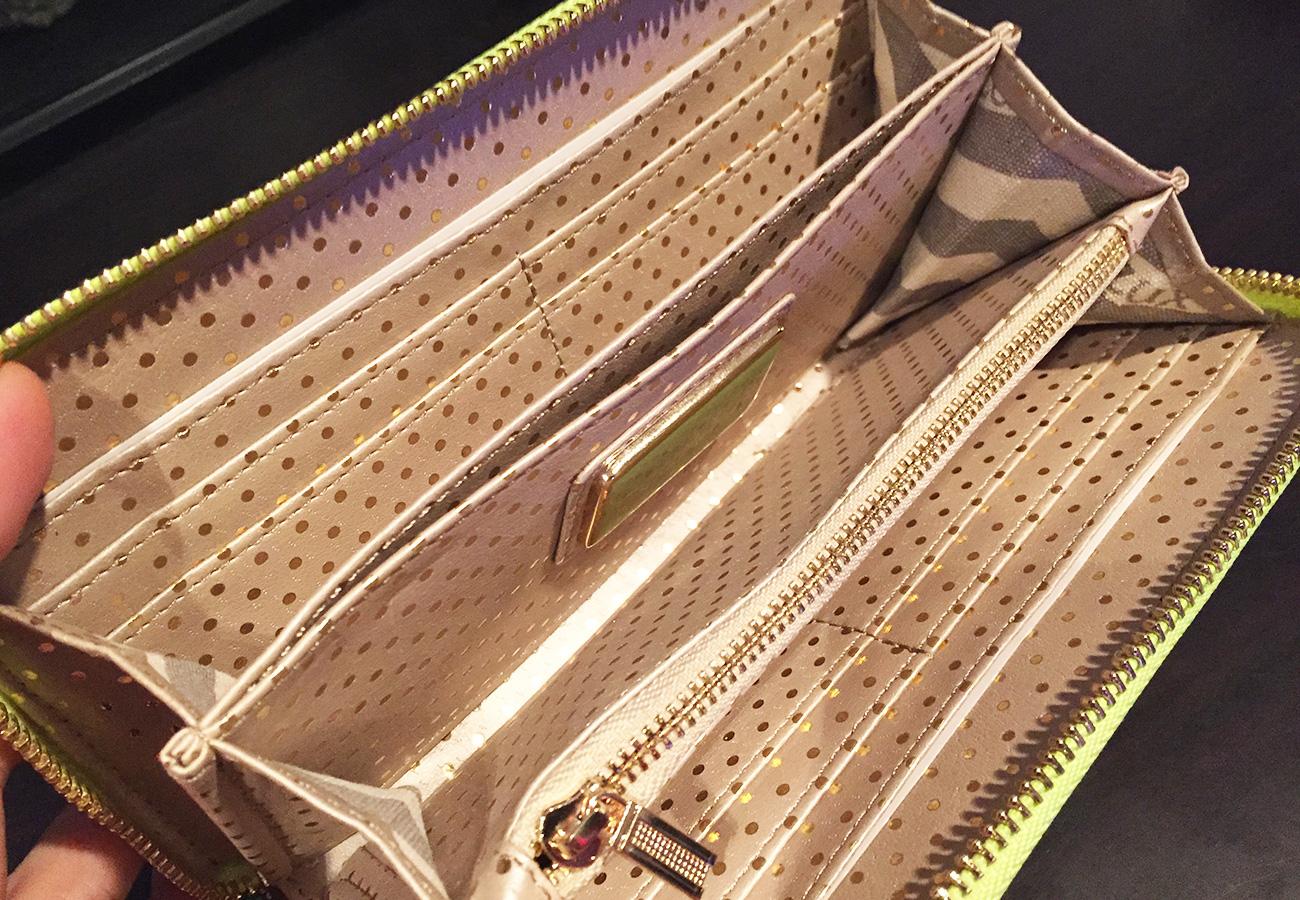 財布中 3室構造