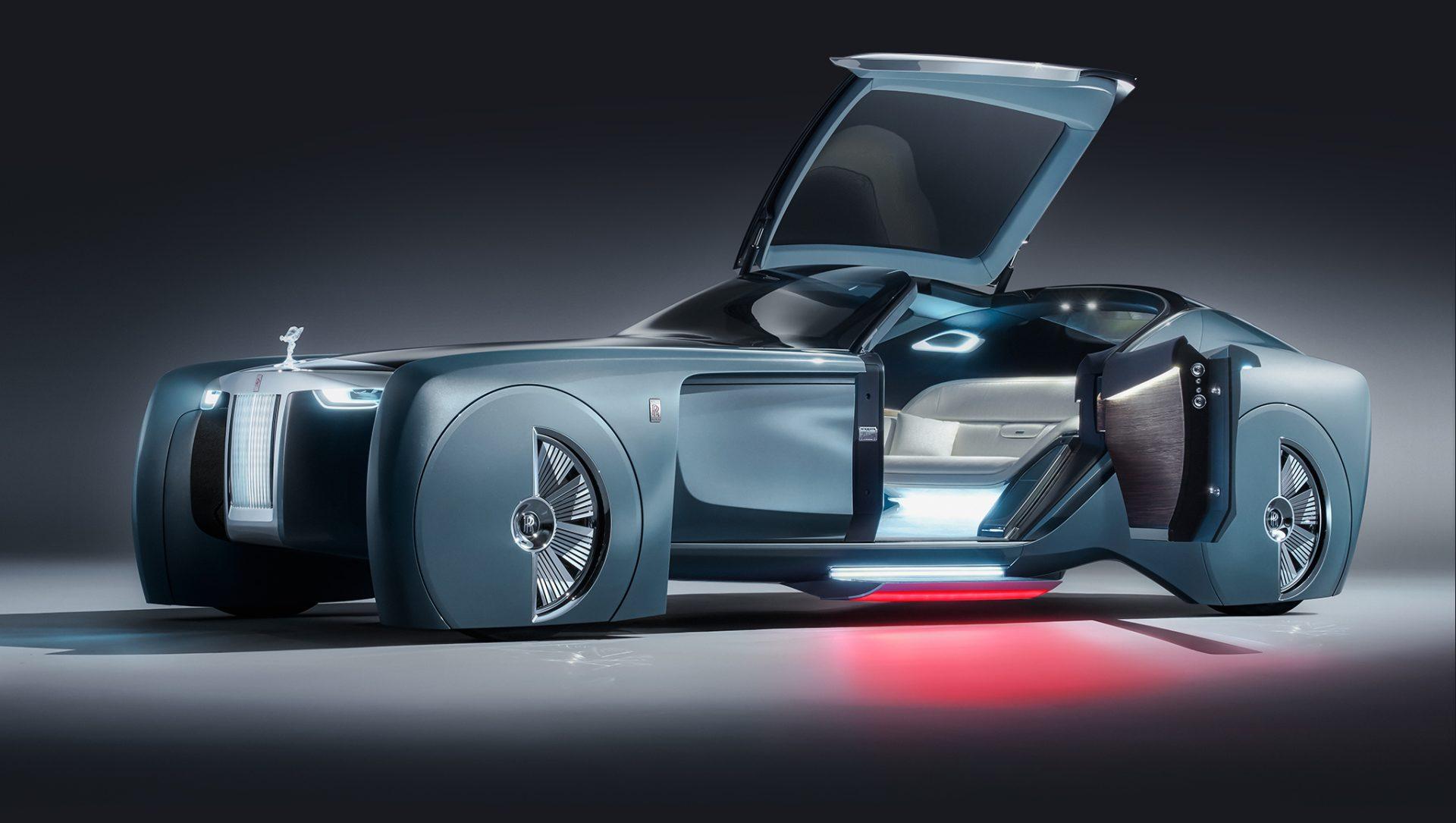 人工知能を搭載したロールスロイスのコンセプトカー「103EX」がダサい