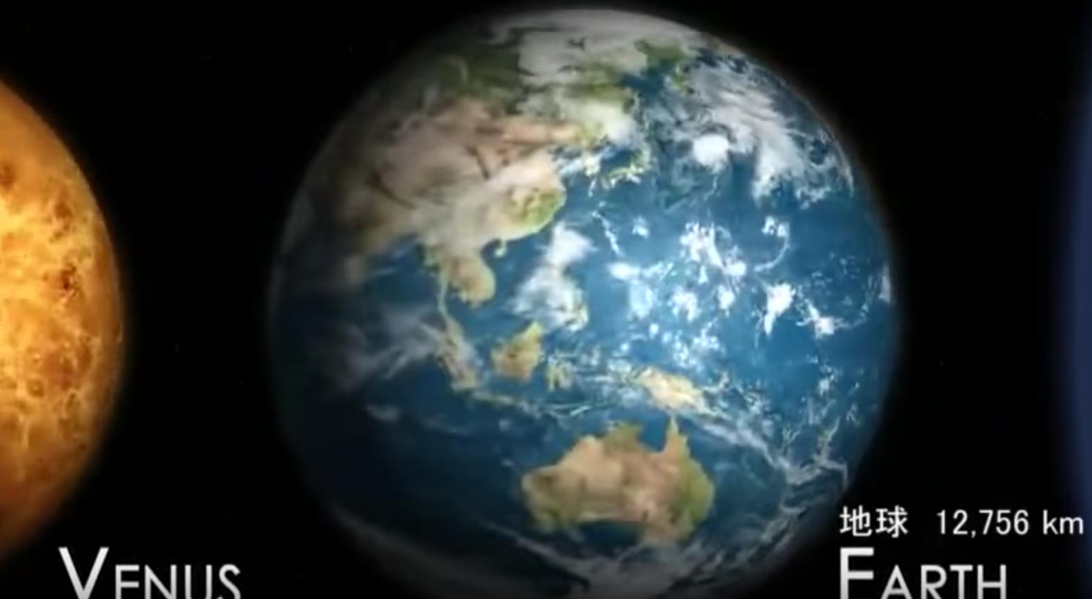 宇宙から見た地球は果てしなく小さくちっぽけな存在だった