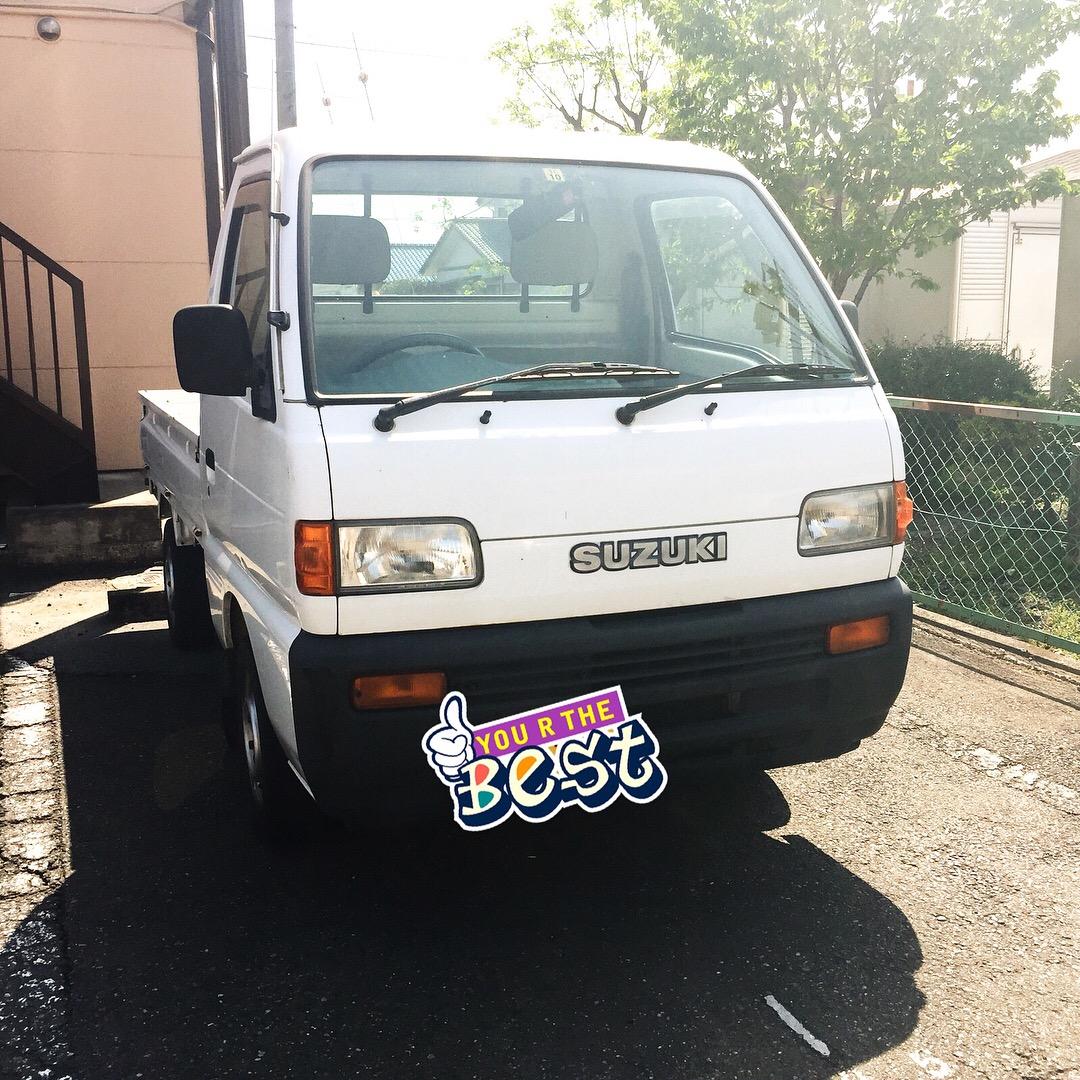メルカリで車検付き軽トラを5万円で買ったら更に人生が楽しくなった