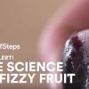 ドライアイスを使って炭酸ジュースのようにシュワシュワなフルーツを作る方法